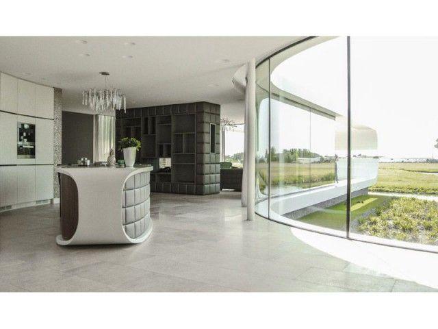 Une villa en corian ultradesign maison moderne 4 pinterest cuisines contemporaines - Maison modulaire espagnole ...