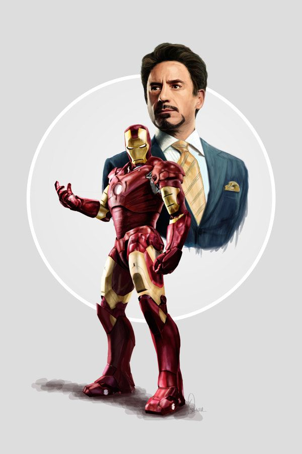 Stark / Iron Man by Quan Duong, via Behance