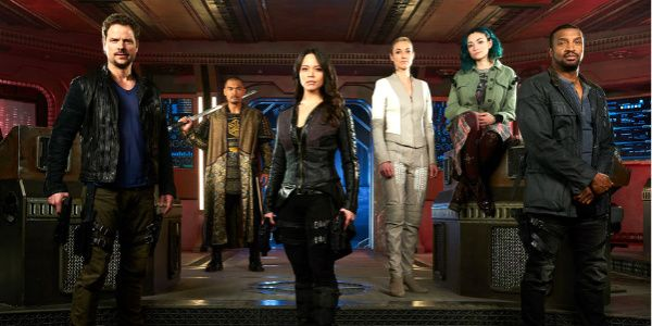 17 minutes ago      Warning: Spoilers ahead for the Season 3 premiere of Dark Matter. Feel free to catch up first before reading on.     Syfy's space opera Dark Matter ended on a truly explosive cliffhanger last season, and now we finally know what happened to the crew of the Raza....
