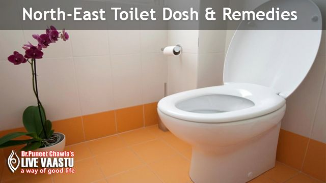NORTH EAST TOILET DOSH & REMEDIES Vastu principles consider a toilet in the north-east to be a ...