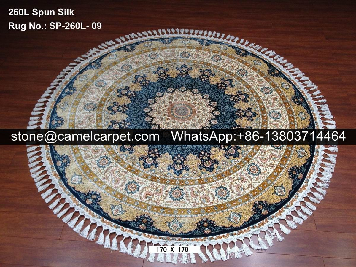 260L Persian silk rug carpet  #persiansilkrug#persiansilkcarpet#turkishsilkrug#turkishsilkcarpet