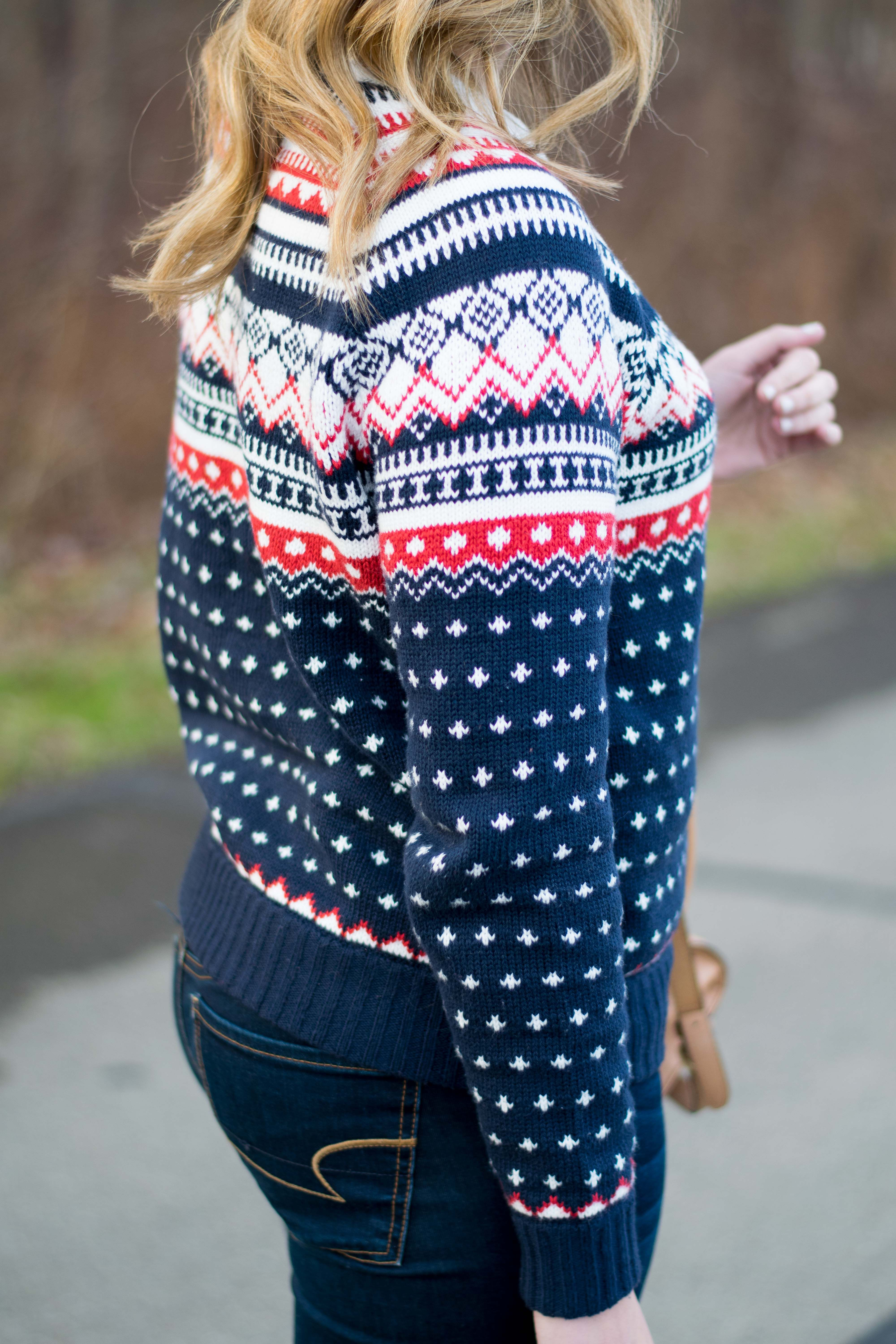 Holiday outfit inspiration by Emillion Thoughts // fair isle ...