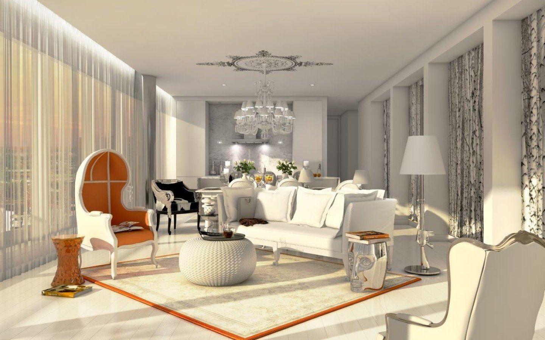Yoo Montreal Residences Luxury Living Room Interior Designers