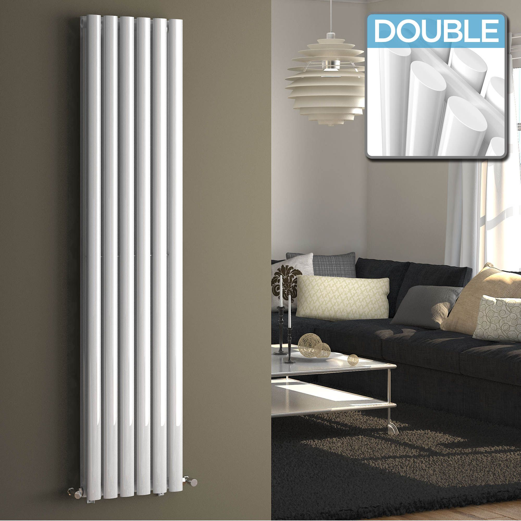 Vertical radiators column radiators tall radiators - Designer vertical radiators for kitchens ...