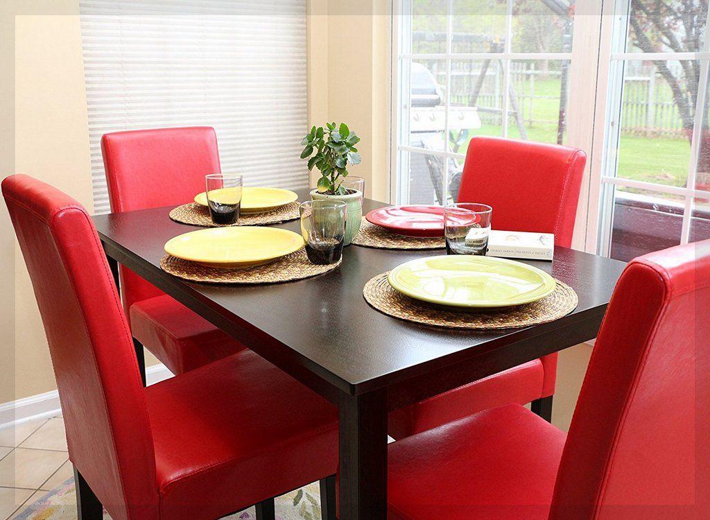 esszimmer drehstuhl rot ideen ##esszimmerstühle #esszimmertisch