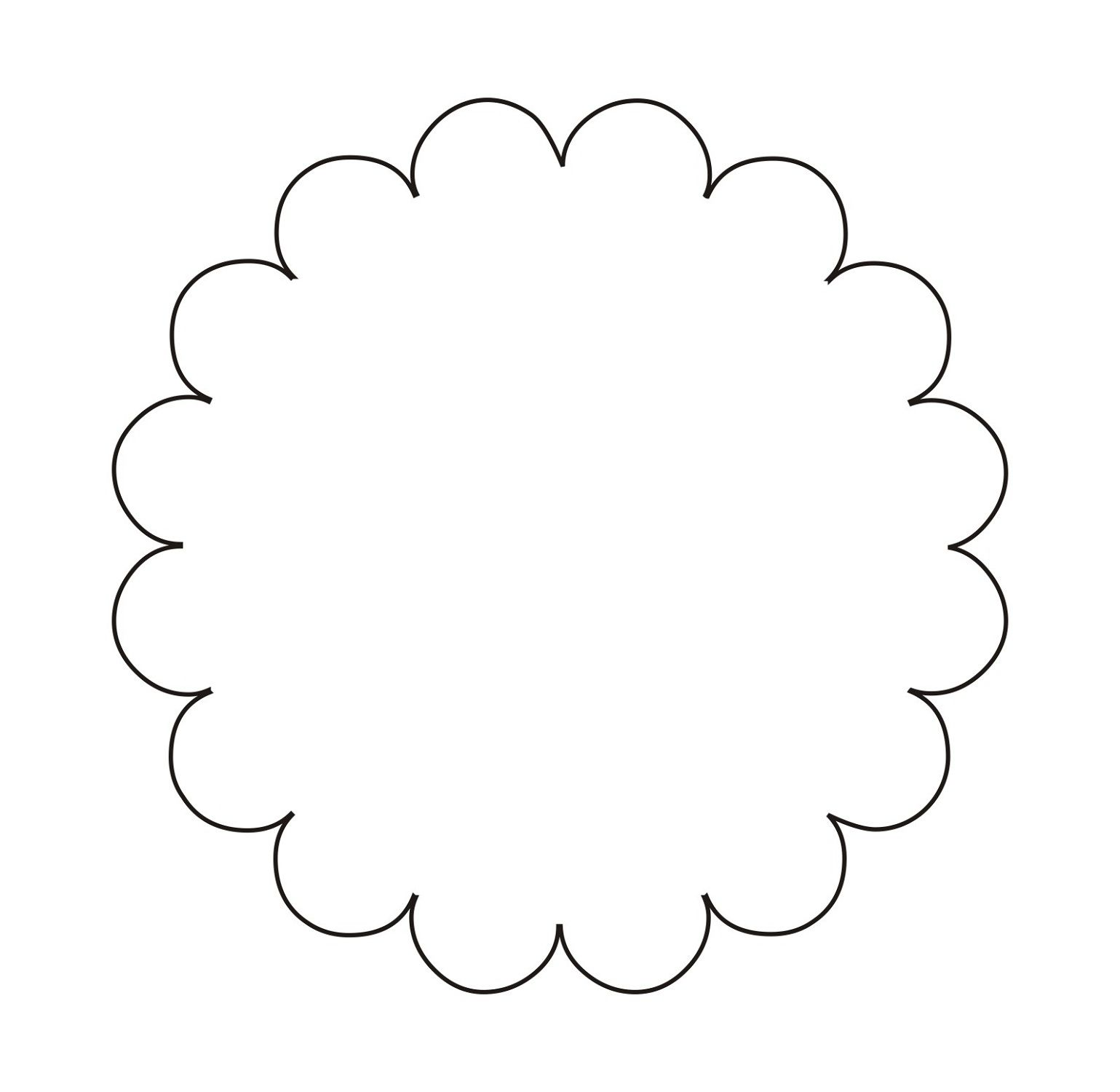 Circle Shape Pattern For Incredible Art