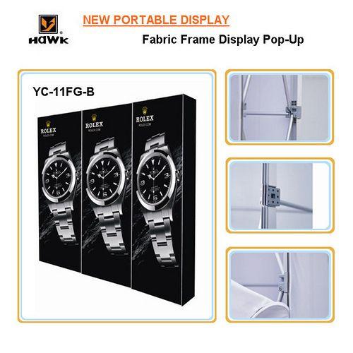Portable Exhibition Frame : Hawk exhibition booth portable display series yc fg