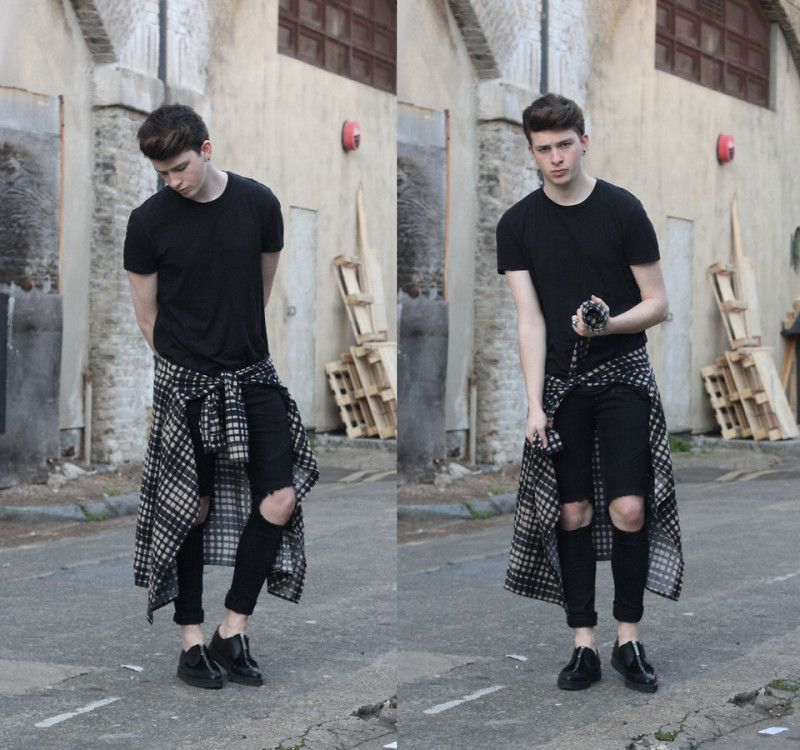Diy Ripped Jeans For Men | Fashion | Pinterest | Diy ripped jeans ...