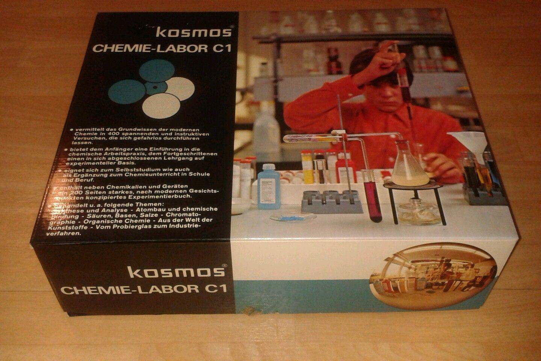 Kosmos chemie labor c1 experimentierkasten ebay vintage radio