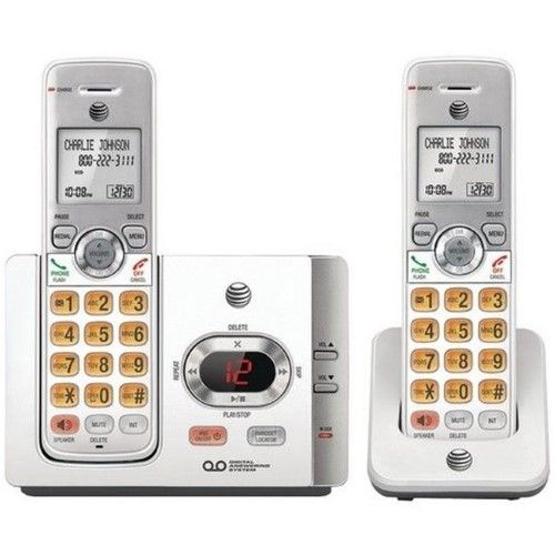Vtech-At&t EL52215 2 Handset Answering System With Caller