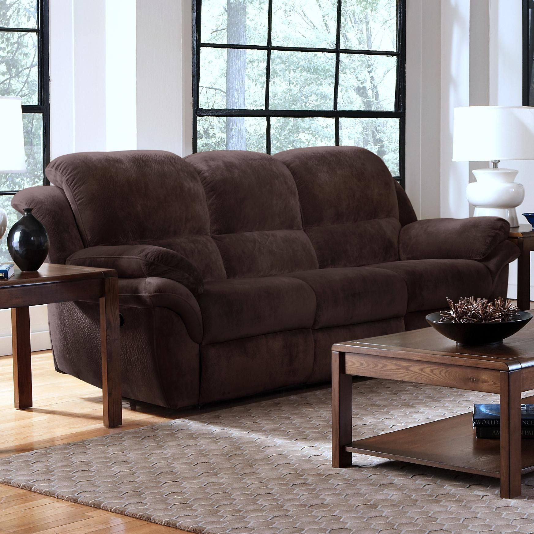 Pebble Power Reclining Sofa By New Classic Sofa New Classic