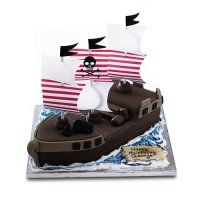 PIrate Cake Waitrose 47 pirate party 4yrs Pinterest