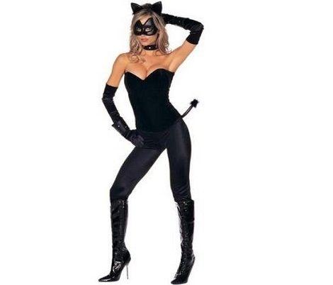 disfraces-halloween-caseros-mujer-gata-negra disfraces Pinterest - imagenes de disfraces de halloween