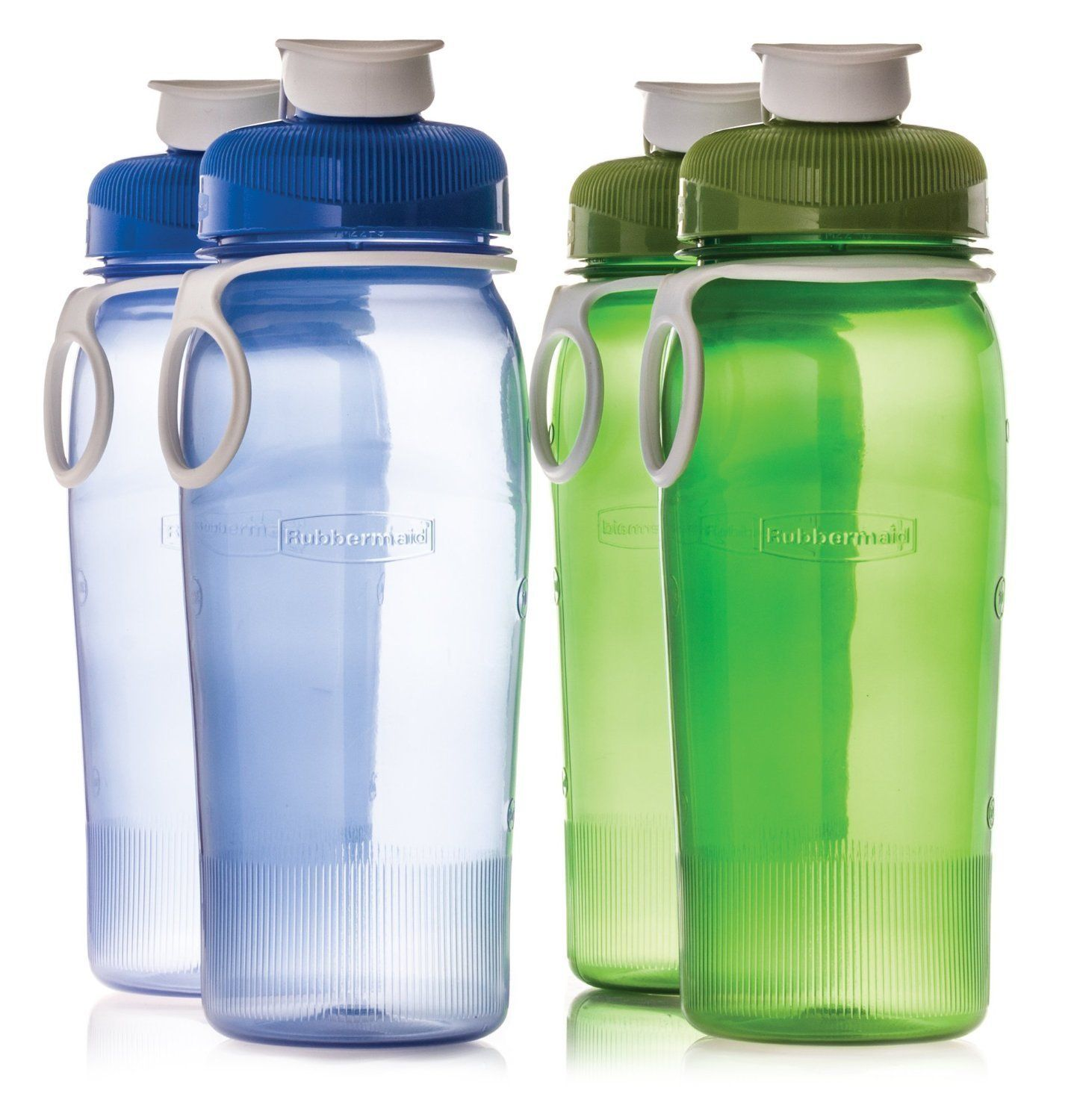 Amazon Com Rubbermaid Refill Reuse 20 Ounce Chug Bottle 4 Pack Sports Water Bottles Kitchen Dining Water Bottle Best Water Bottle Bulk Water Bottles