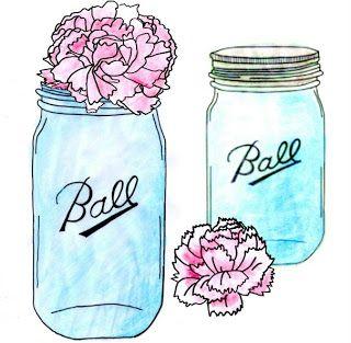 Mason jar love. Designing life for obsession