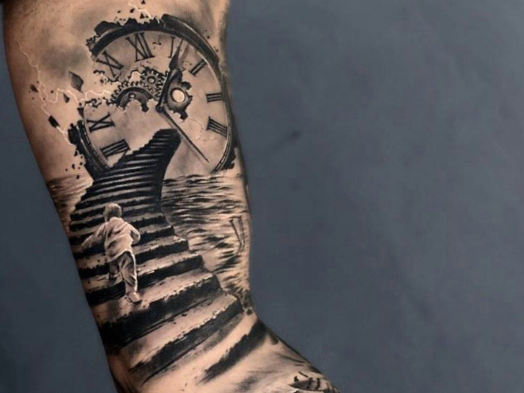 pin by nails by on tattos clock faces