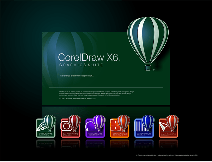 corel draw x6 activator with serial number full download
