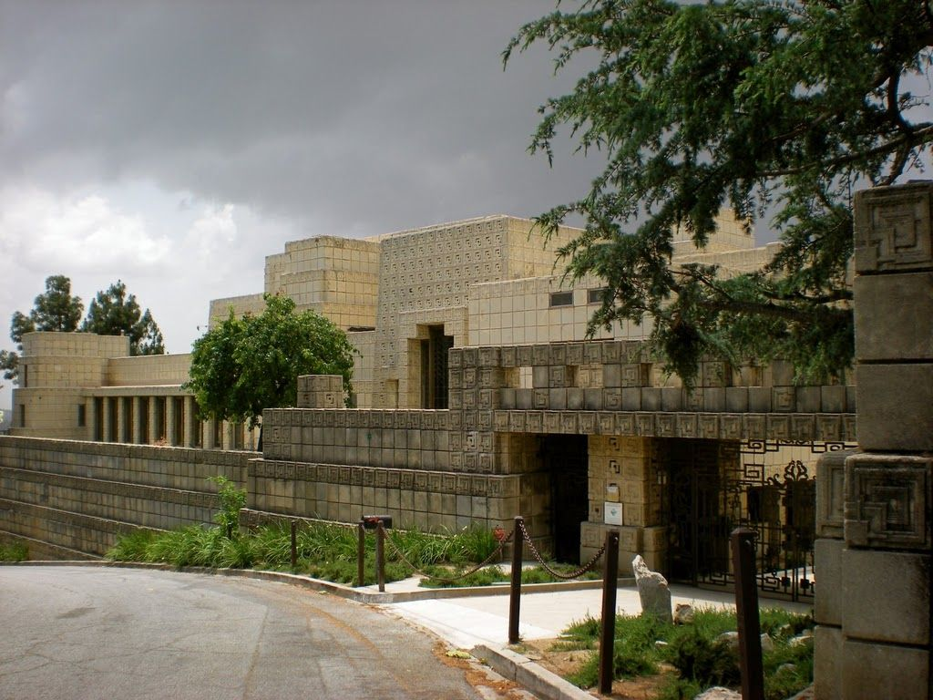 Frank Lloyd Wright House Los Angeles: The Ennis House By Frank Lloyd Wright For Charles And