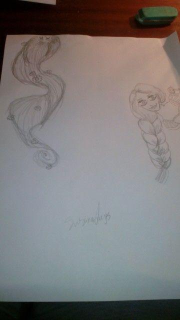 Rapunzel desenho susana lages