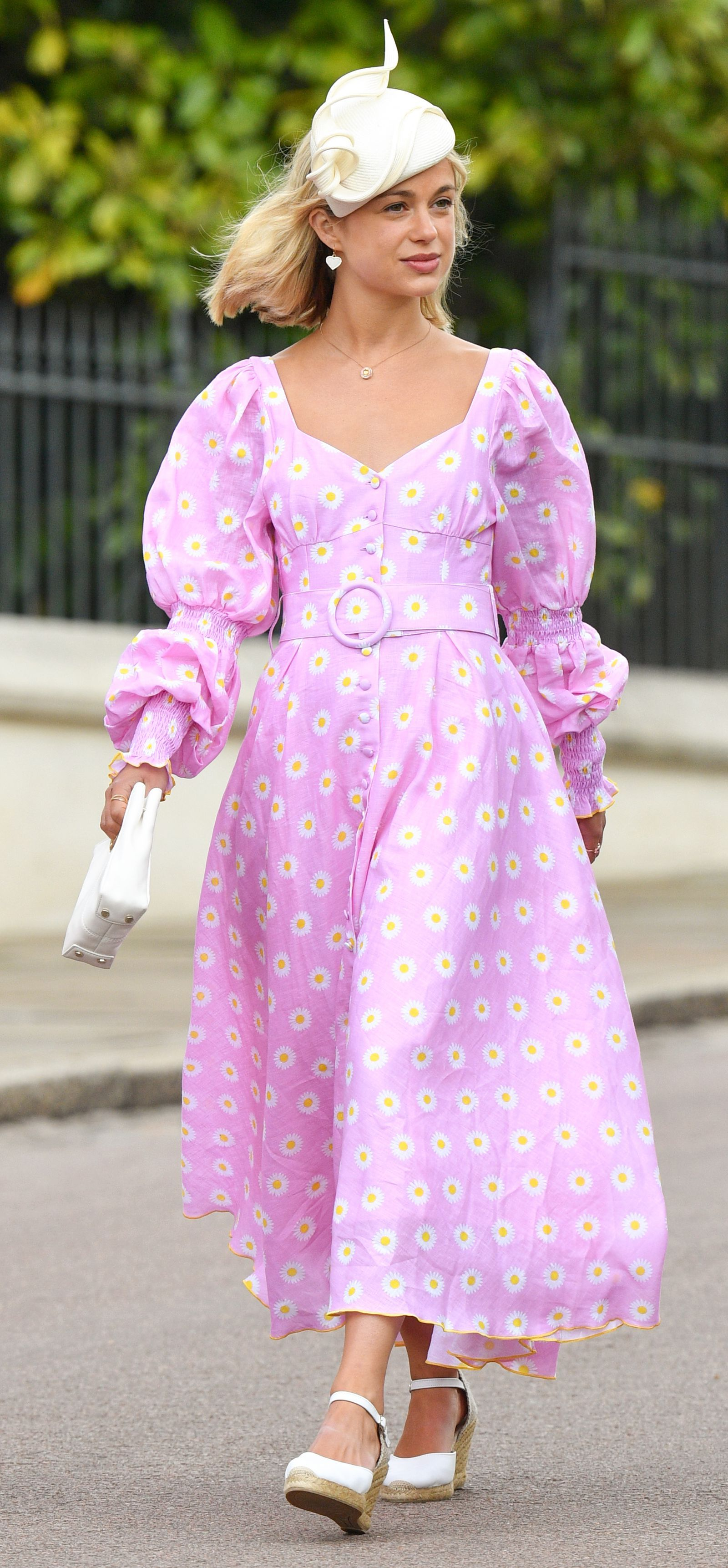Lady Amelia Windsor Is Our Inspiration For Summer Wedding Guest Dressing Wedding Guest Dress Summer Guest Dresses Lady Amelia Windsor [ 3444 x 1600 Pixel ]