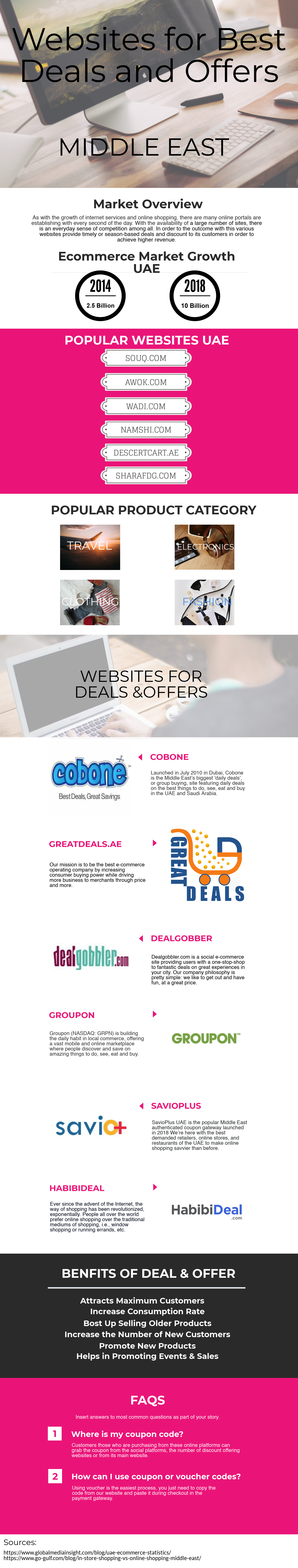 Websites For Best Deals And Offers In The Middle East Discount Codes Coupon Promo Codes Offer