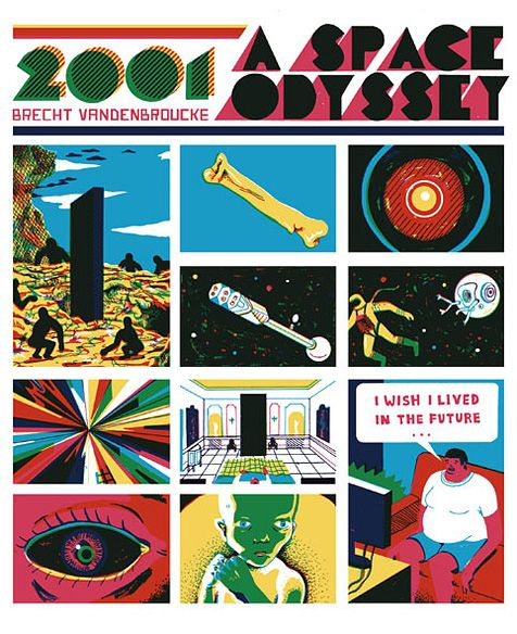 Image result for 2001 a space odyssey art