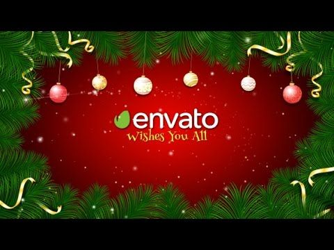 Christmas Greetings | After Effects template | After Effects ...