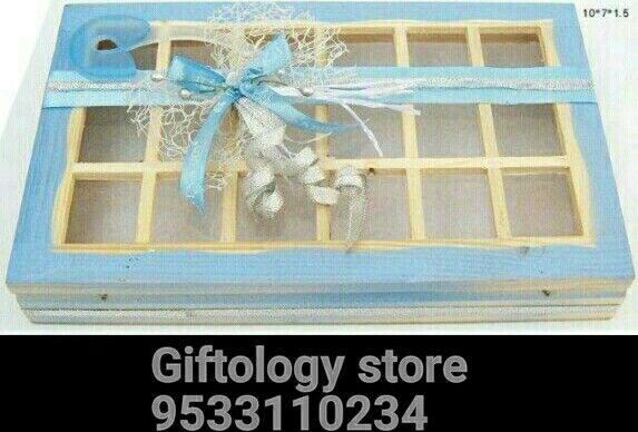 Baby shower Boxes and trays baby announcement favors sweets – Baby Announcement Favors