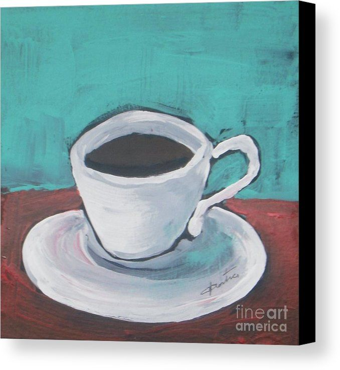 Morning Coffee Canvas Print / Canvas Art by Vesna Antic