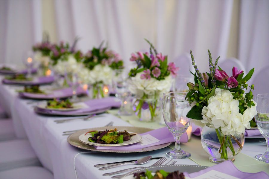 Whimsical Green And Lavender Tampa Wedding Purple Green Wedding