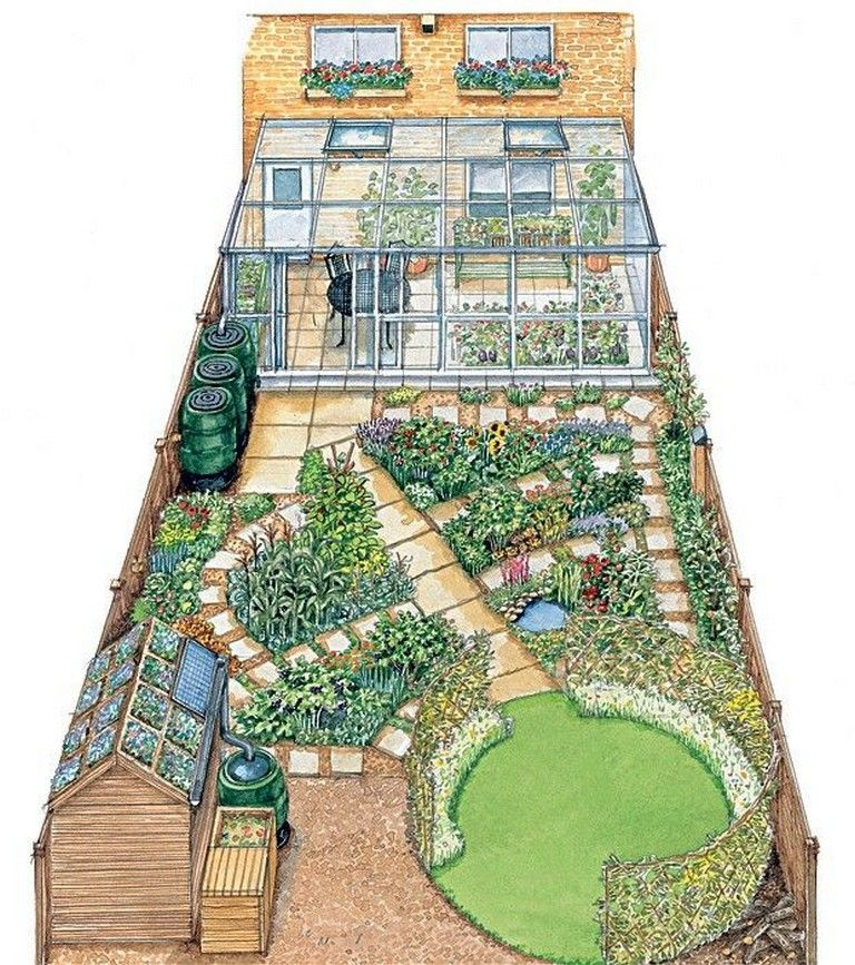 Potager Garden Design Ideas: 20 Good Crops For A Potager Garden