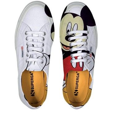 Disney Mickey Mouse Superga shoes
