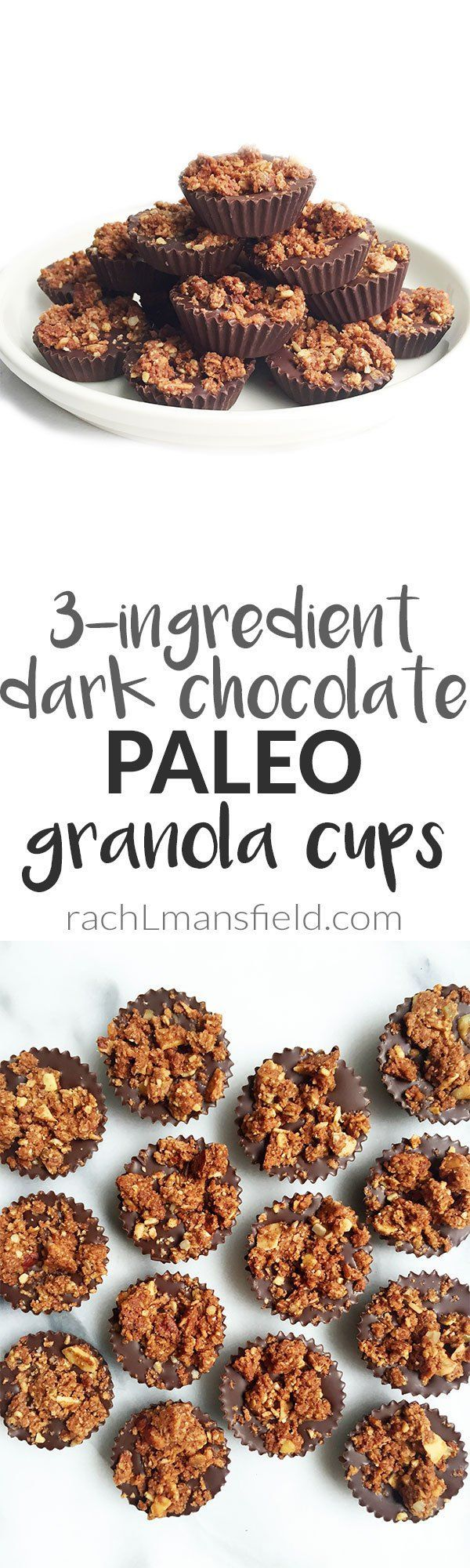 3-ingredient Dark Chocolate Paleo Granola Cups ready in just 30 minutes Easy dessert recipes are basically all I need in life (just kidding.. but like actually). Seriously though, there is nothing I look forward to more than having dessert. It's hands down one of my favorite parts of the day. I have (hopefully) accomplished all that...Read More »