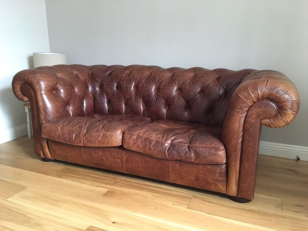 Pin By Tina On Cottage Lounge Chesterfield Sofa Leather