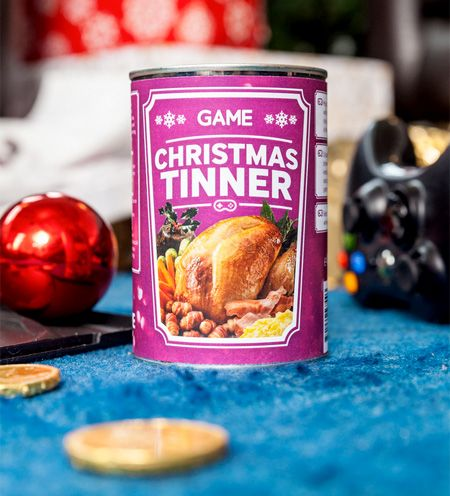 Christmas Dinner In A Tin.Christmas Meal In A Can Three Course Festive Meal Comes