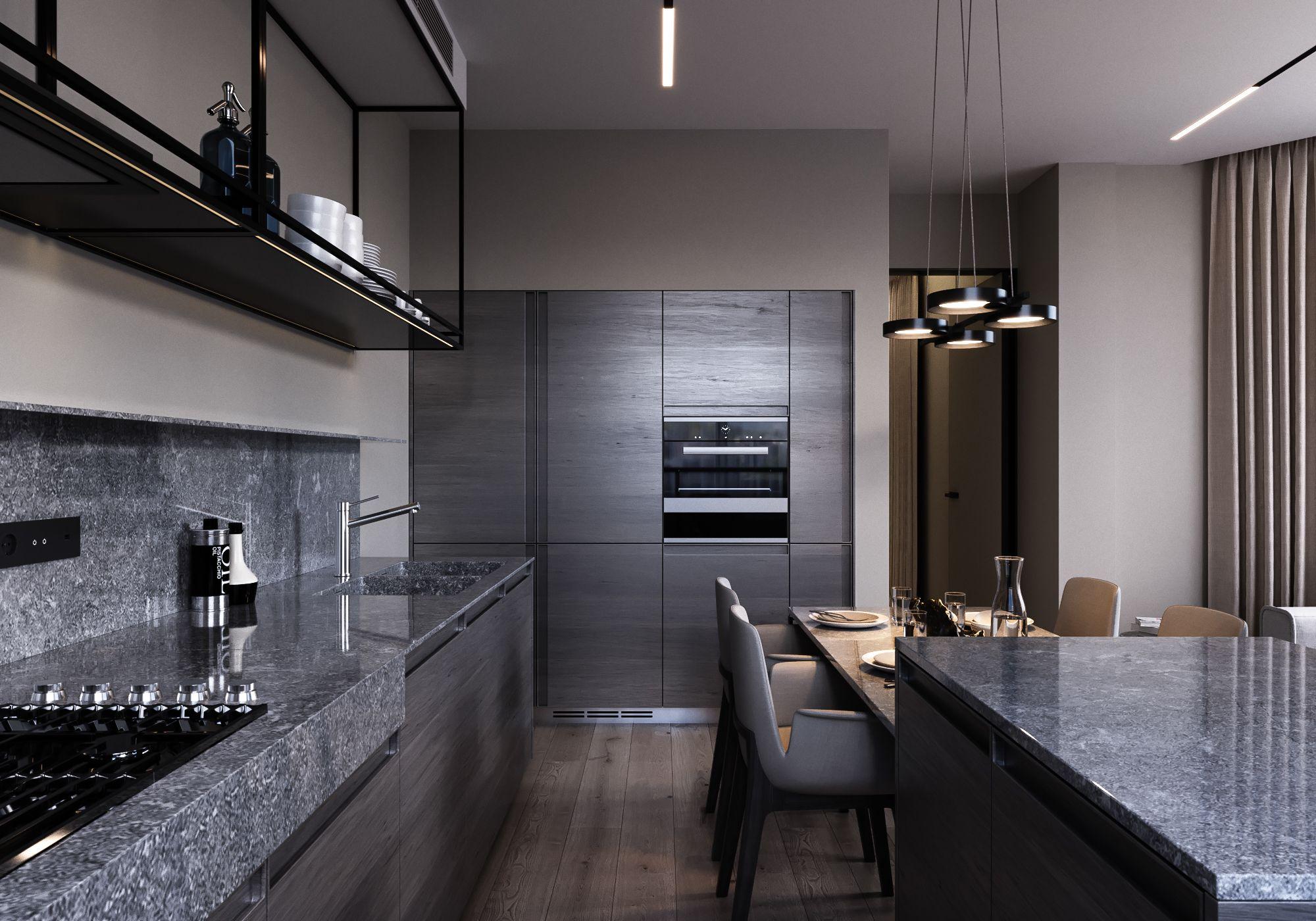 Pt arystokraty with kitchen moon by anova on behance kitchens