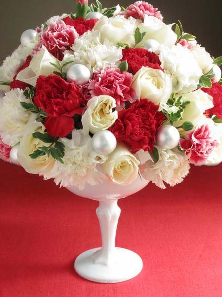 Xmas Floral Arrangement FULL OF FLOWER Pinterest Floral