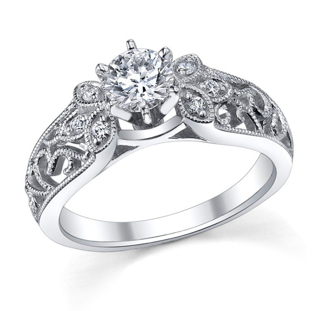 Platinum Wedding Rings For Her Regarding S