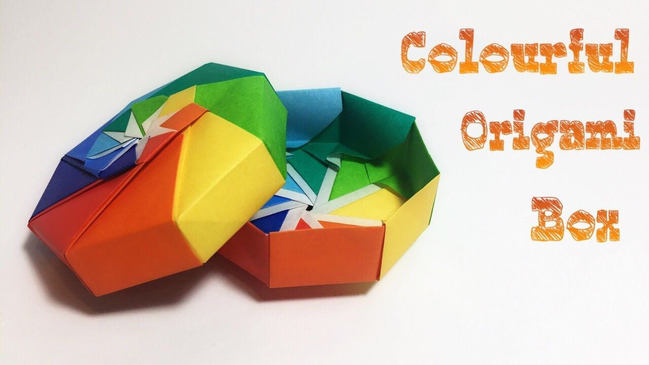 Easy Rectangle Origami Box Instructions | 720x1280