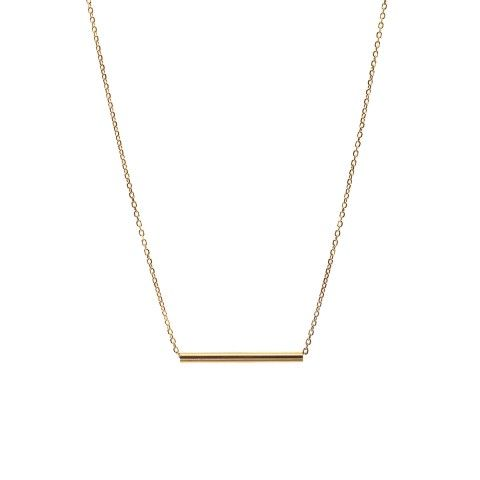 Maria Black - Tube Necklace Long - gold 1