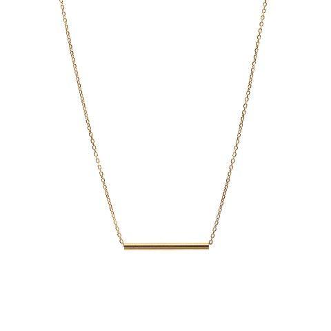 Maria Black - Tube Necklace Long - gold 1