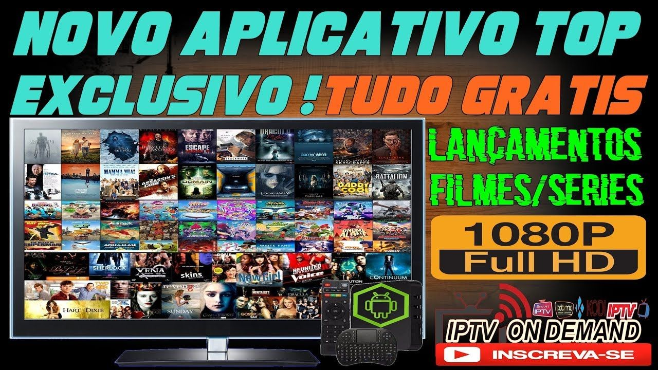 Novo Aplicativo Exclusivo Para Tv Box Com Filmes E Series Hd 720p