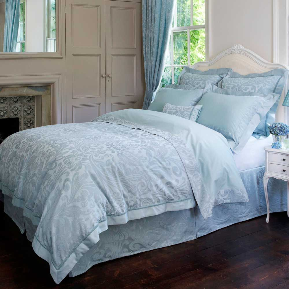Buy Christy Marianne Bedding Collection Teal Free Uk
