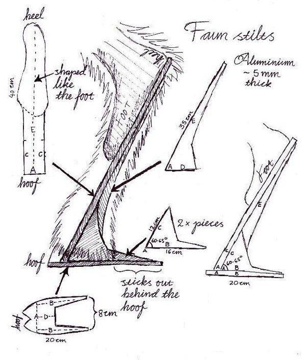Faun stilt blueprint by Ulltotten on deviantART