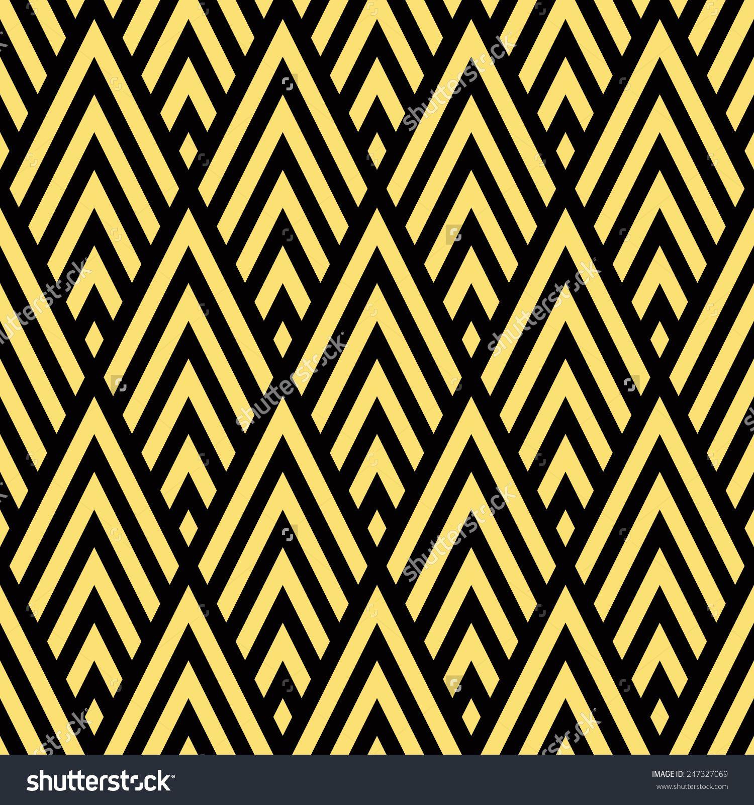 Art Deco Design Background Vector