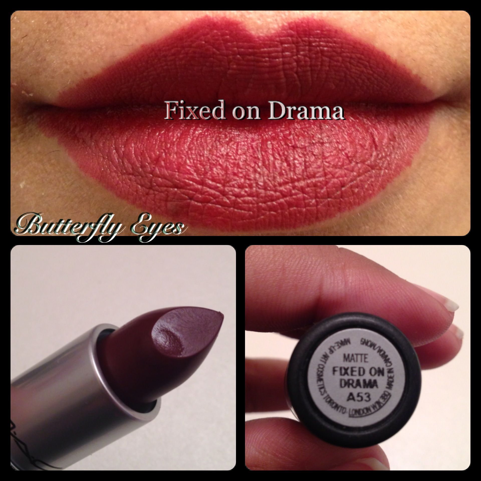 mac fixed on drama lipstick - photo #25