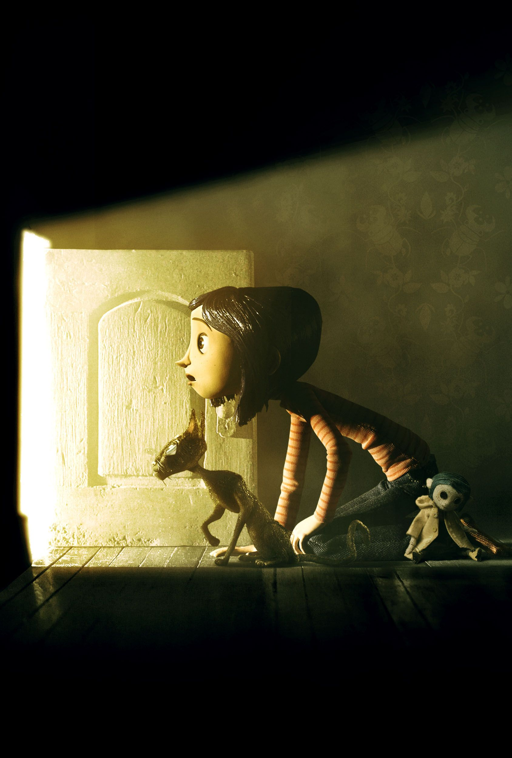 Coraline I Watched This For The First Time The Other Day And Was Surprised At How The Start Of The Book Is Remark Coraline Jones Stop Motion Tim Burton Movie
