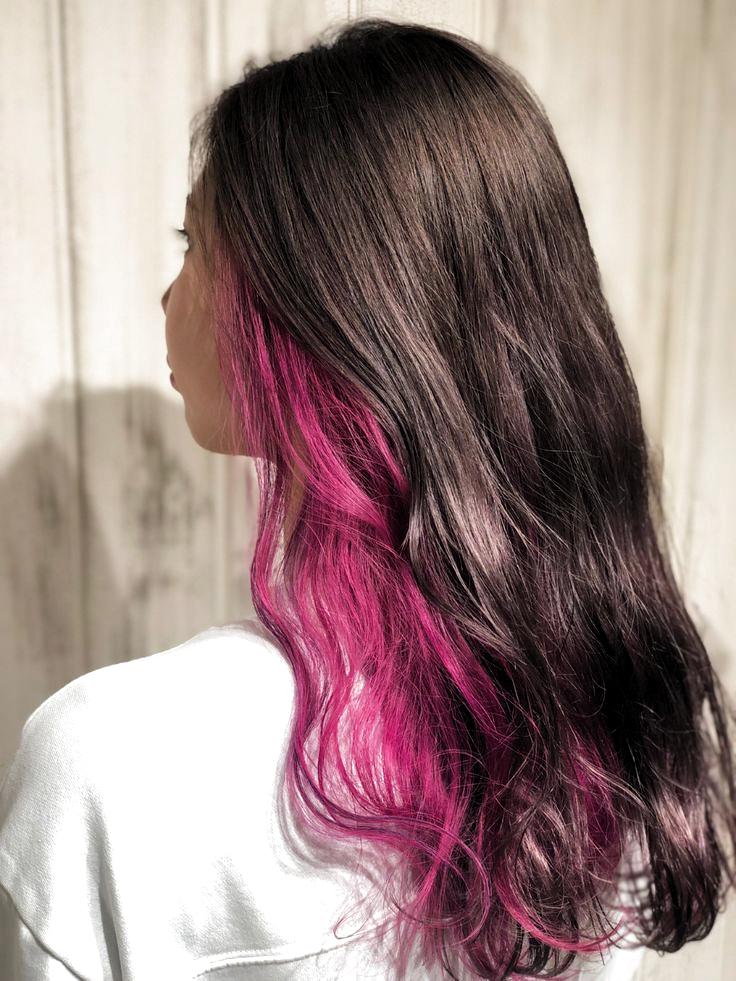 Pin By Joca On Hair In 2020 Hair Color Underneath Hair Color Streaks Hair Dyed Underneath