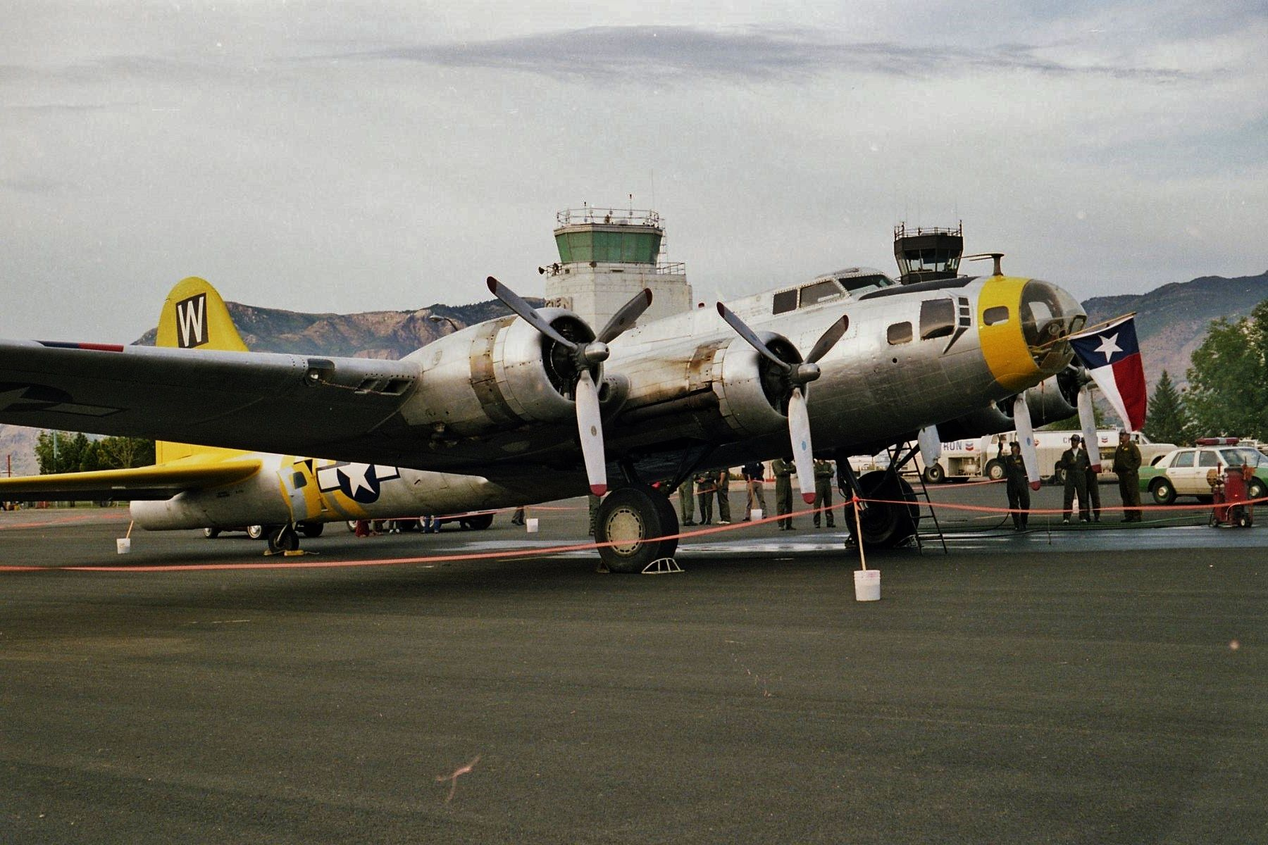 Confederate Air Force B17 at Ogden, Utah