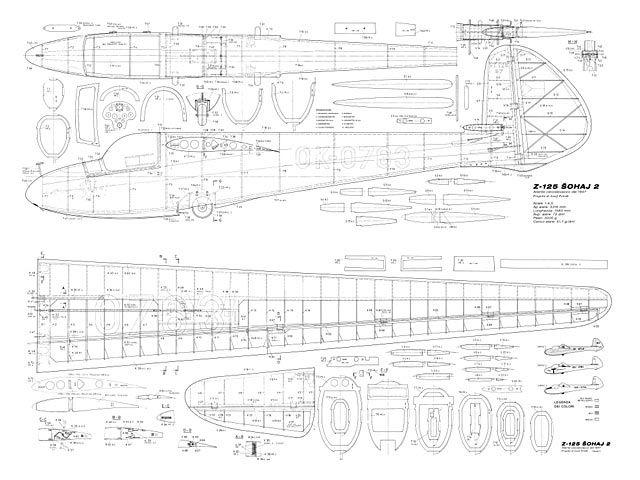 Z-125 Sohaj 2 - Josef Petran - Modellismo - 130in